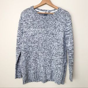 (Anthropologie) Quinn Marled Gray Sweater